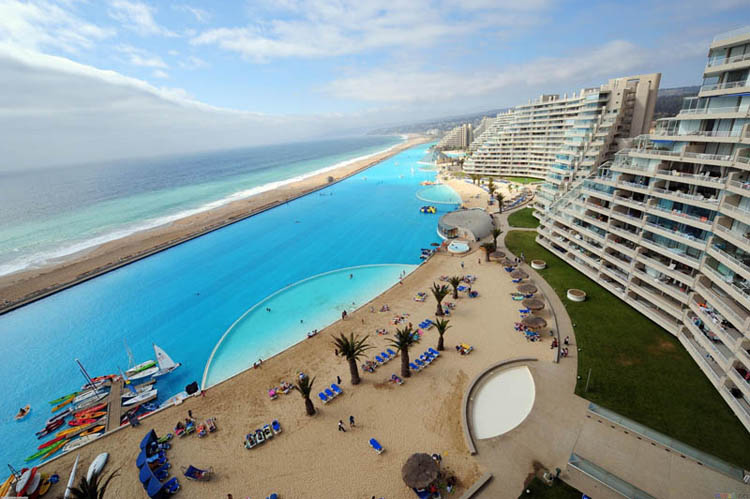 San alfonso del mar resort suzzstravels for Largest swimming pool in the world chile