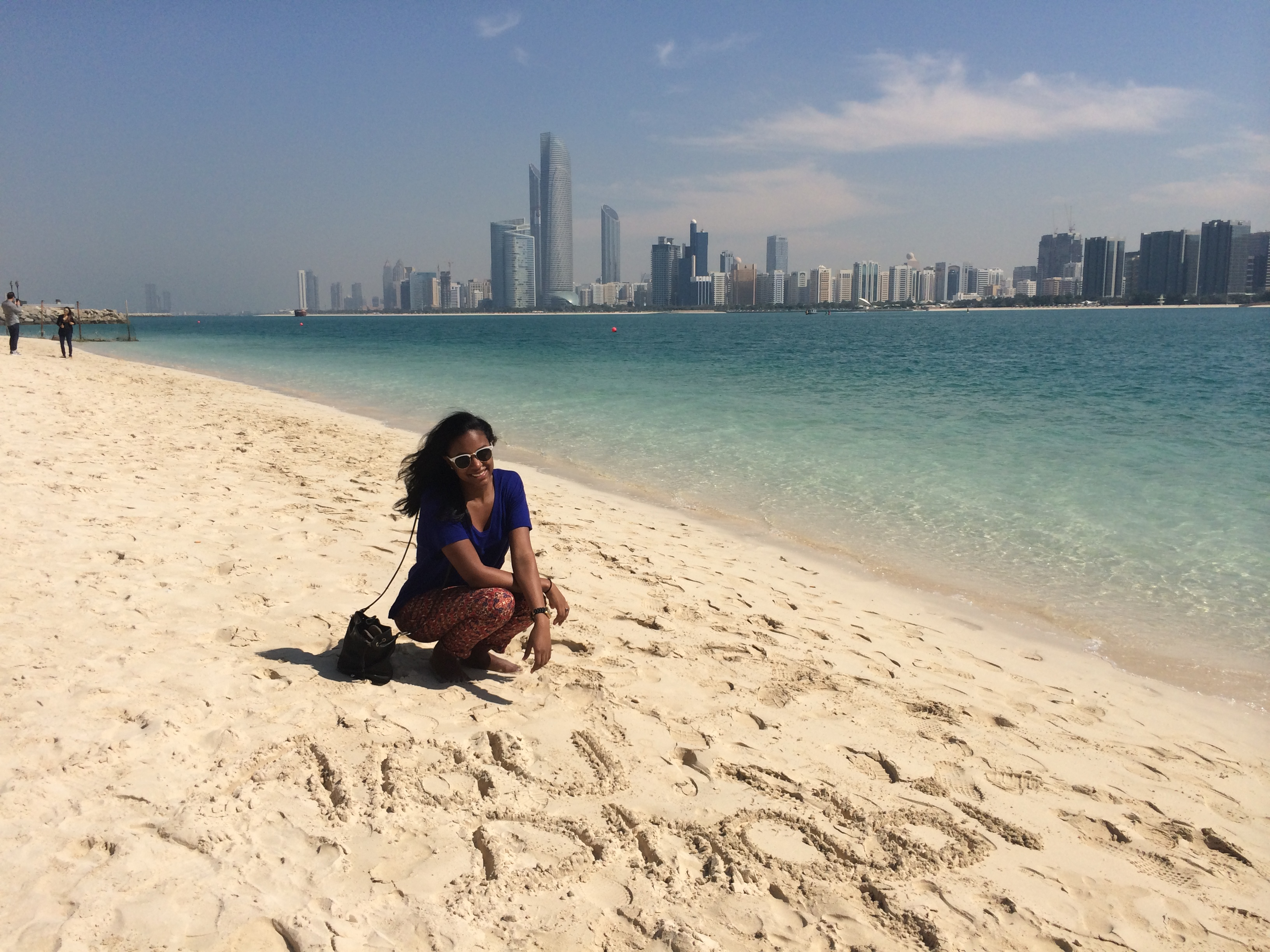 A visit to abu dhabi and dubai suzzstravels for Best beach vacations in march