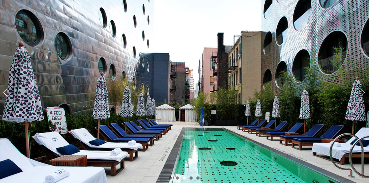 Hotel Pools New York City
